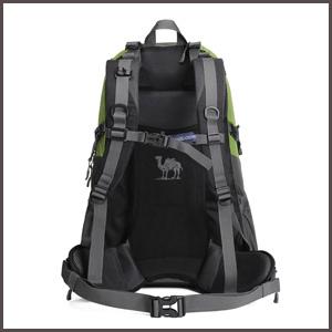 40L Waterproof Hiking Backpack Travel Daypack Backpacks back