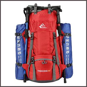 Waterproof Travel & Hiking Backpack adj
