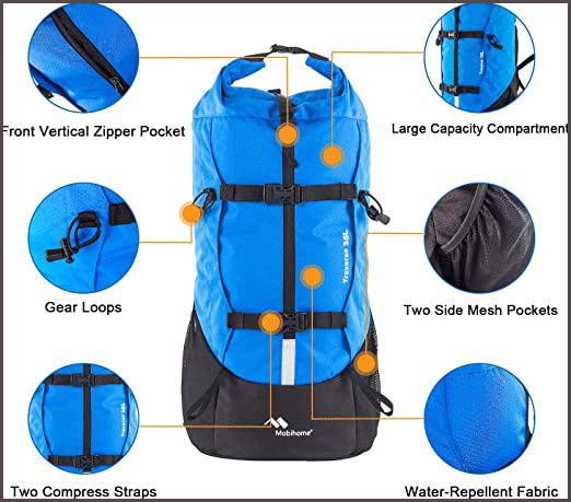 Best Waterproof Backpacks Traverse 35L 3