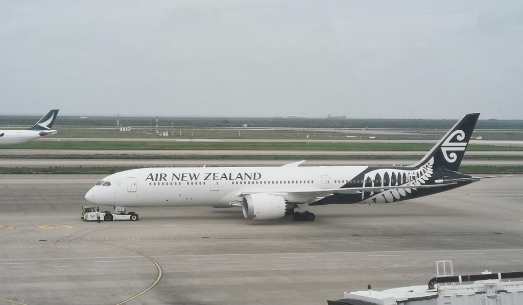 Flying to Around New Zealand