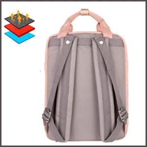 Himawari Waterproof Backpack comfortable