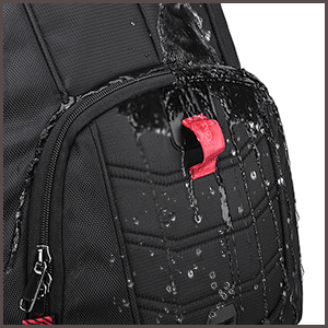 NUBILY Laptop Backpack 17.3 Inch Waterproof Large TSA Travel Backpack waterproof