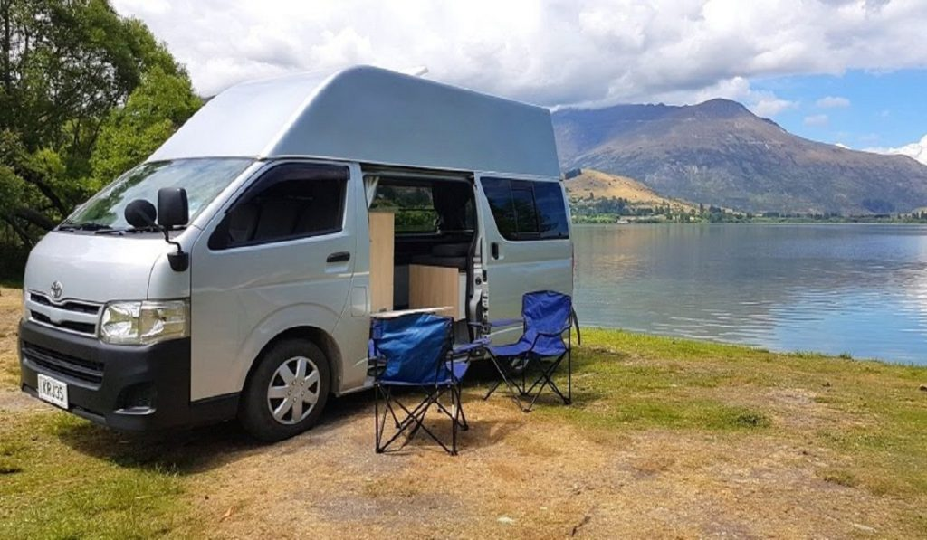 Renting a Campervan traveling to New Zealand