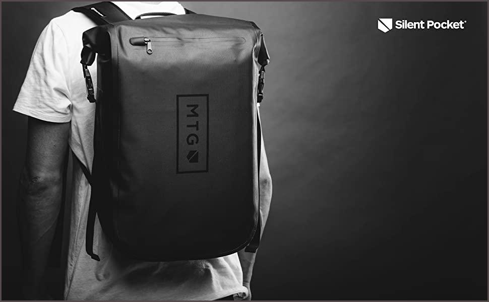 Silent Pocket Faraday Waterproof Backpack