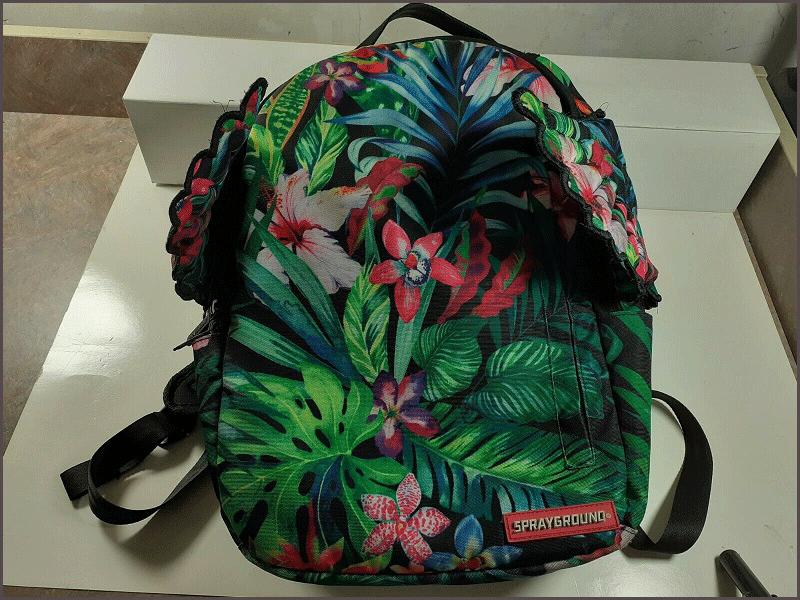 Sprayground Backpacks Tie Dye Wings