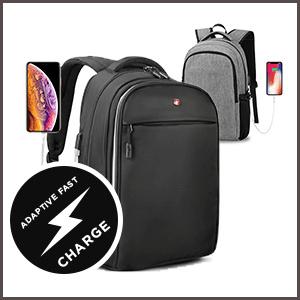 Waterproof Laptop Backpack usb