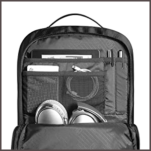 Waterproof Travel Computer Backpack Accessory Compartment