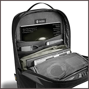 Waterproof Travel Computer Backpack main compartment