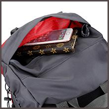 Waterproof Travel & Hiking Backpack Top