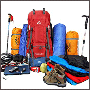 Waterproof Travel & Hiking Backpack Large