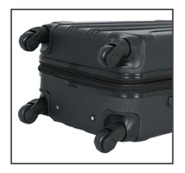 travelers club luggage Spinner Wheels