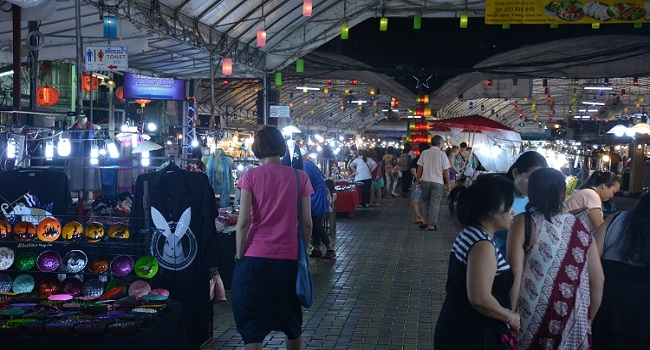 Chiangmai fight gear anusarn market