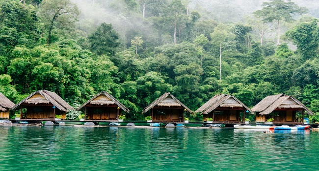where to stay in Khao Sok national park